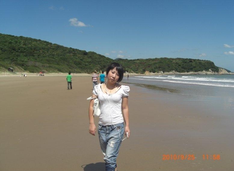 舟山风景自拍照